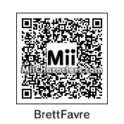 QR Code for Brett Favre by Danny