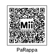 QR Code for PaRappa the Rapper by Victor StHang