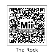 "QR Code for Dwayne ""The Rock"" Johnson by reenter23"
