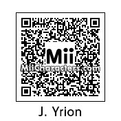 QR Code for Josue Yrion by Cipi