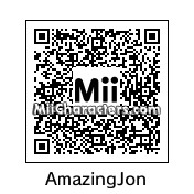 QR Code for The Amazing Jonathan by NAMWHO