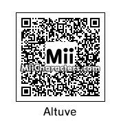 QR Code for Jose Altuve by 3dsGamer2007