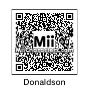 QR Code for Josh Donaldson by 3dsGamer2007