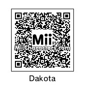 QR Code for Dakota by rhythmclock
