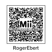 QR Code for Roger Ebert by NAMWHO