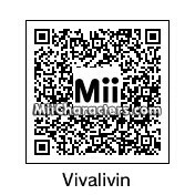 QR Code for Vivian Lamolli by Gabriel Retron