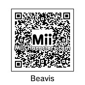 QR Code for Beavis by Junks