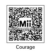 QR Code for Courage the Cowardly Dog by Junks
