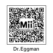 QR Code for Dr. Eggman by Junks