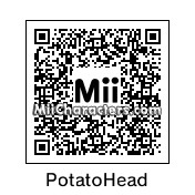 QR Code for Mr. Potato Head by Junks