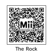 "QR Code for Dwayne ""The Rock"" Johnson by Junks"