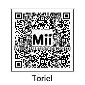 QR Code for Toriel by Frisk