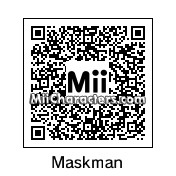 QR Code for Happy Mask Salesman by Sumwan