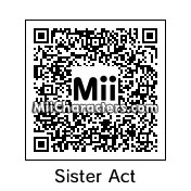 QR Code for Sister Mary Clarence by NAMWHO