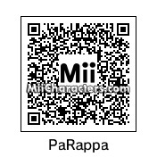 QR Code for PaRappa the Rapper by AsrielDreemurr