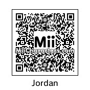 "QR Code for Michael ""Air"" Jordan by Ajay"