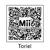 QR Code for Toriel by Musical