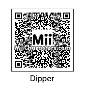 QR Code for Dipper Pines by n8han11
