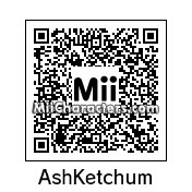QR Code for Ash Ketchum by Sonorashu