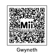 QR Code for Gwyneth Paltrow by celery