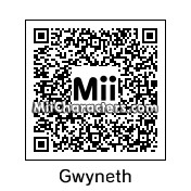 QR Code for Gwyneth Paltrow by Midna