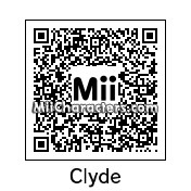 QR Code for Clyde McBride by KM22