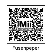 QR Code for Captain Fussenpepper by AsrielDreemurr