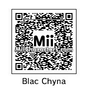 QR Code for Blac Chyna by Gabriel Retron