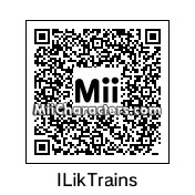 QR Code for I Like Trains by WiiFan2786