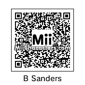 QR Code for Bernie Sanders by BuffyBoo