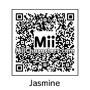 QR Code for Princess Jasmine by Cpt Kangru