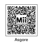 QR Code for Asgore Dreemurr by CrystalWolfZ