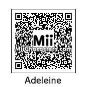 QR Code for Adeleine by SonicDreamcast