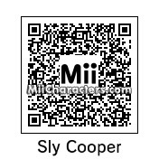 QR Code for Sly Cooper by Luigi 233