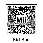 QR Code for Kid Buu by Finn M