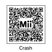 QR Code for Crash Bandicoot by Andrew S35