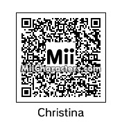 QR Code for Christina Grimmie by LittleWolf