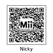 QR Code for Nicky Little by 90sToonLover38