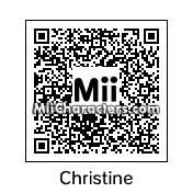 QR Code for Christine and the Queens by Quentin Fr