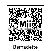 QR Code for Bernadette Chirac by Quentin Fr