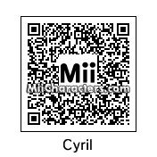 QR Code for Cyril Hanouna by Quentin Fr