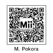 QR Code for M. Pokora by Quentin Fr