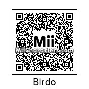 QR Code for Birdo by MiiandU