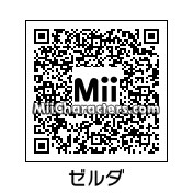 QR Code for Princess Zelda by JuFu