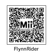 QR Code for Flynn Rider by Toon and Anime