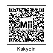 QR Code for Noriaki Kakyoin by MrJ