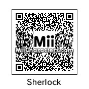 QR Code for Sherlock Holmes by HuddersKing