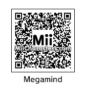 QR Code for Megamind by Toon and Anime