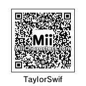 QR Code for Taylor Swift by MiiEnderWyatt