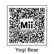QR Code for Yogi Bear by C.Ronaldo
